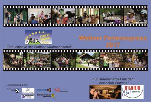 """Mit Filmaktivitäten beteiligte sich der Videoclub Wattens heuer beim """"Wattner Ferienexpress 2017"""""""