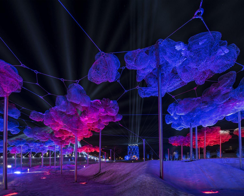 Spektakuläres Lichtfestival 2018 in den Swarovski Kristallwelten ...